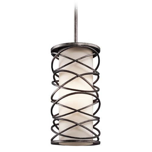 Kichler Lighting Kichler Mini-Pendant Light with White Glass 42466WMZ