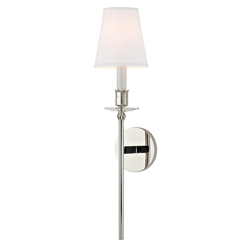 Hudson Valley Lighting Urbana 1 Light Sconce - Polished Nickel 261-PN-WS