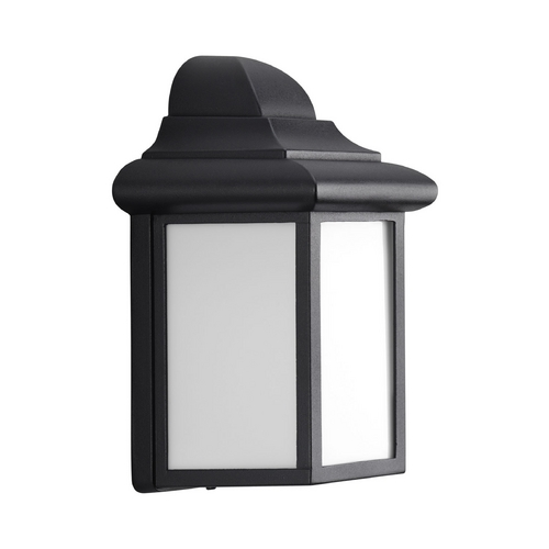 Progress Lighting Progress Outdoor Wall Light with White in Black Finish P5821-31