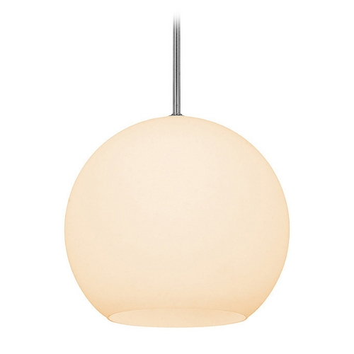 Access Lighting Access Lighting Nitrogen Brushed Steel Pendant Light C23952BSOPLEN1118BS
