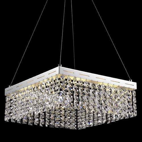 Lite Source Lighting Lite Source Alecia Ii Chrome LED Pendant Light EL-10122