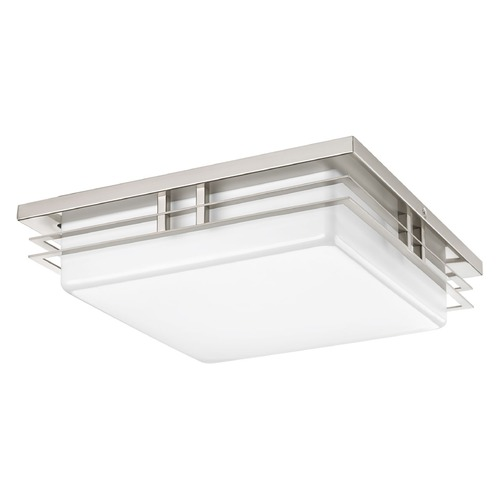 Progress Lighting Progress Lighting Helm Brushed Nickel LED Flushmount Light P3448-0930K9