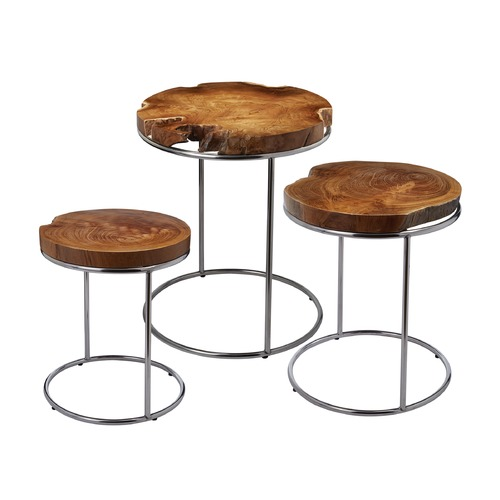 Dimond Lighting Natural Teak Stacking Tables 162-001