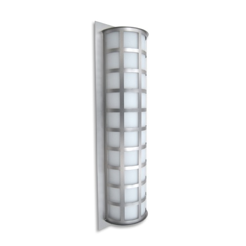 Besa Lighting Besa Lighting Scala Brushed Aluminum LED Outdoor Wall Light SCALA28-WA-LED-BA