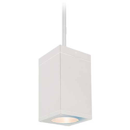 WAC Lighting Wac Lighting Cube Arch White LED Outdoor Hanging Light DC-PD05-F830-WT