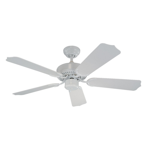 Monte Carlo Fans Ceiling Fan Without Light in White Finish 5WF42WH