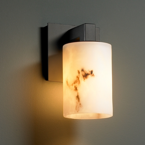 Justice Design Group Justice Design Group Lumenaria Collection Sconce FAL-8921-10-MBLK