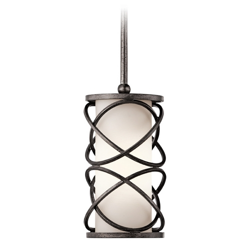 Kichler Lighting Kichler Mini-Pendant Light with White Glass 42467WMZ