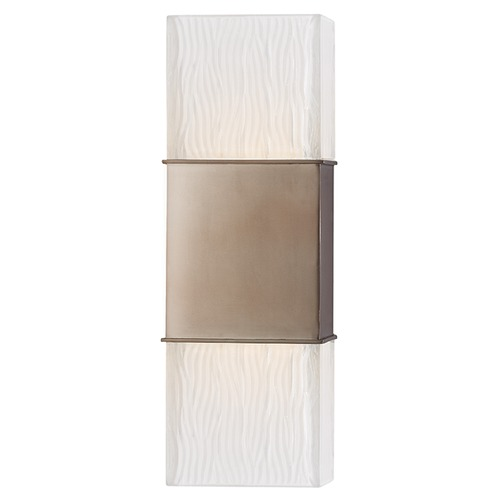 Hudson Valley Lighting Aurora ADA 2 Light Sconce - Brushed Bronze 282-BB