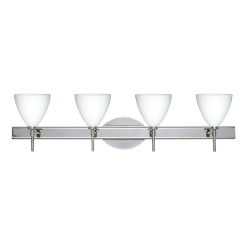 Besa Lighting Besa Lighting Mia Chrome Bathroom Light 4SW-177907-CR