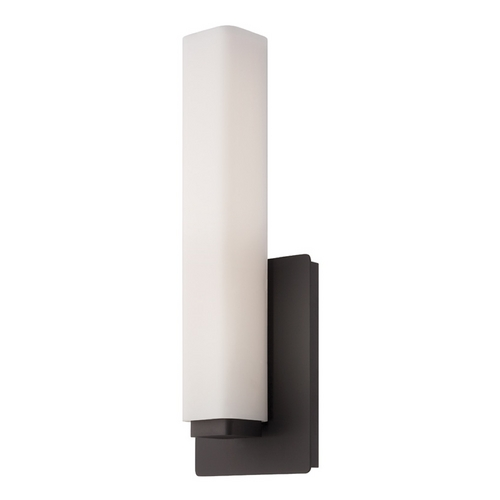 Modern Forms by WAC Lighting Modern Forms Vogue Bronze LED Sconce WS-3115-BZ