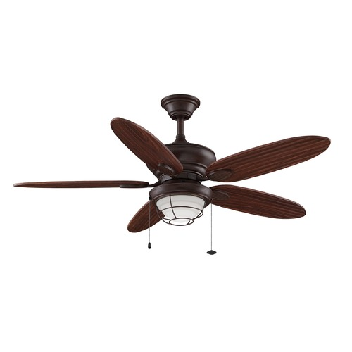 Fanimation Fans Fanimation Fans Kaya Rust Ceiling Fan with Light FP7963RS