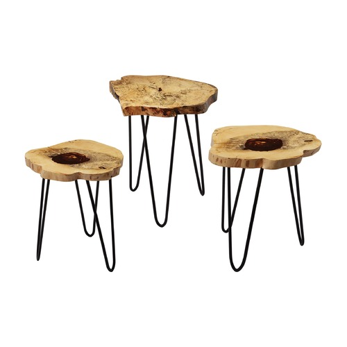 Dimond Lighting Teak Nesting Tables 162-002