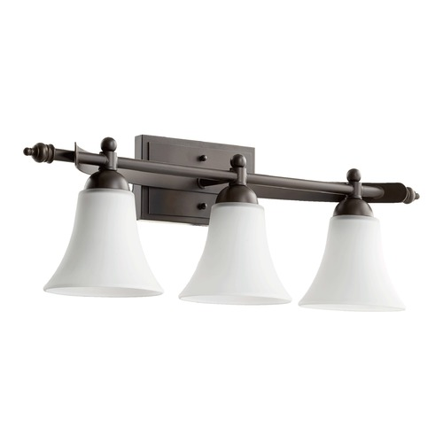 Quorum Lighting Quorum Lighting Aspen Oiled Bronze Bathroom Light 5077-3-186