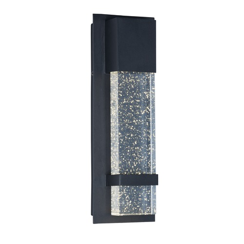 Maxim Lighting Maxim Lighting Cascade Black LED Outdoor Wall Light 55910BGBK