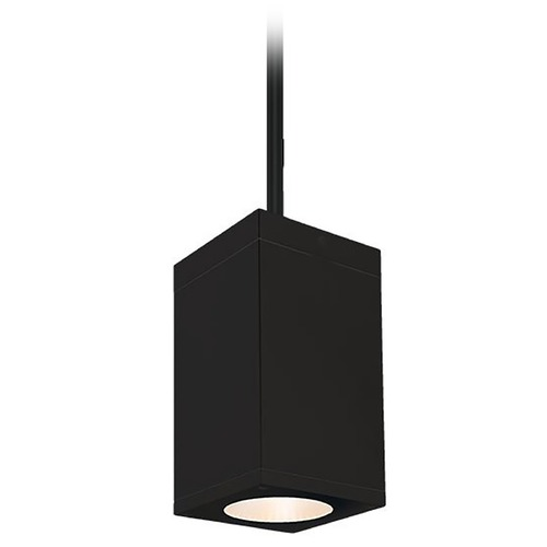 WAC Lighting Wac Lighting Cube Arch Black LED Outdoor Hanging Light DC-PD05-F835-BK