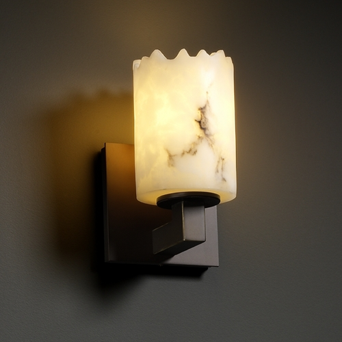 Justice Design Group Justice Design Group Lumenaria Collection Sconce FAL-8921-12-DBRZ