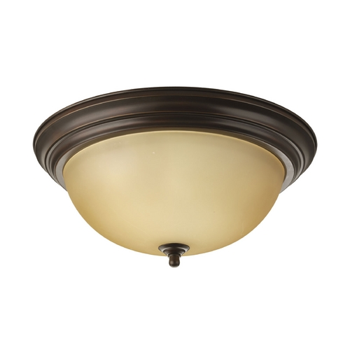 Progress Lighting Progress Flushmount Light in Bronze Finish P3926-20T