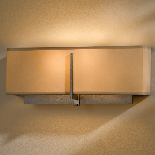 Hubbardton Forge Lighting Hubbardton Forge Lighting Exos Dark Smoke Sconce 207680-07-836