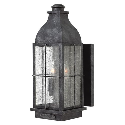 Hinkley Lighting Hinkley Lighting Bingham Greystone Outdoor Wall Light 2044GS