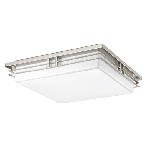 Progress Lighting Progress Lighting Helm Brushed Nickel LED Flushmount Light P3449-0930K9