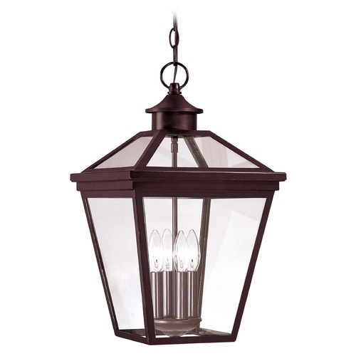 Savoy House Savoy House English Bronze Outdoor Hanging Light 5-145-13
