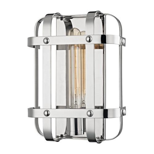 Hudson Valley Lighting Hudson Valley Lighting Colchester Polished Nickel Sconce 6901-PN