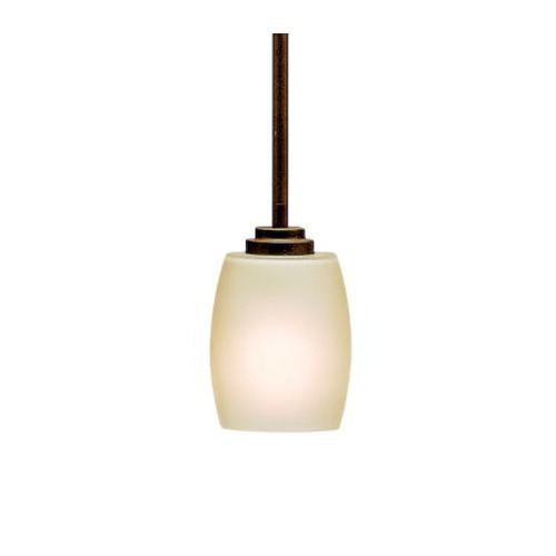 Kichler Lighting Kichler Lighting Eileen Olde Bronze LED Pendant Light with Bowl / Dome Shade 3497OZL16