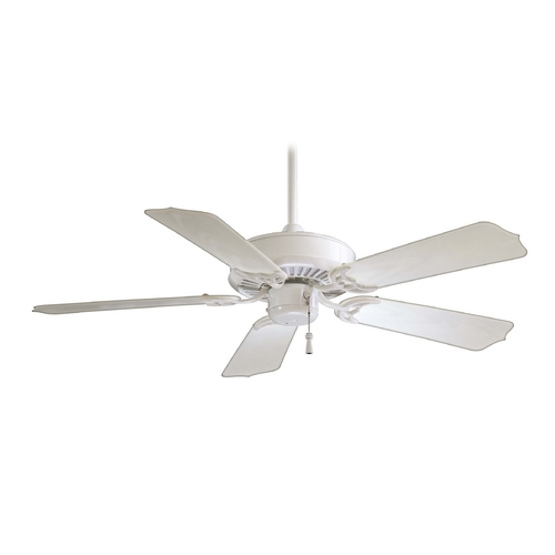 Minka Aire 42-Inch Ceiling Fan Without Light in White Finish F572-WH