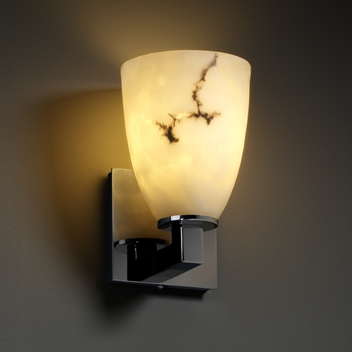 Justice Design Group Justice Design Group Lumenaria Collection Sconce FAL-8921-18-BLKN