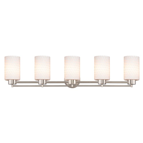 Design Classics Lighting Satin Nickel Bathroom Light 706-09 GL1020C