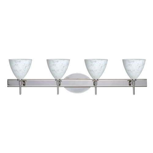 Besa Lighting Besa Lighting Mia Chrome Bathroom Light 4SW-177919-CR
