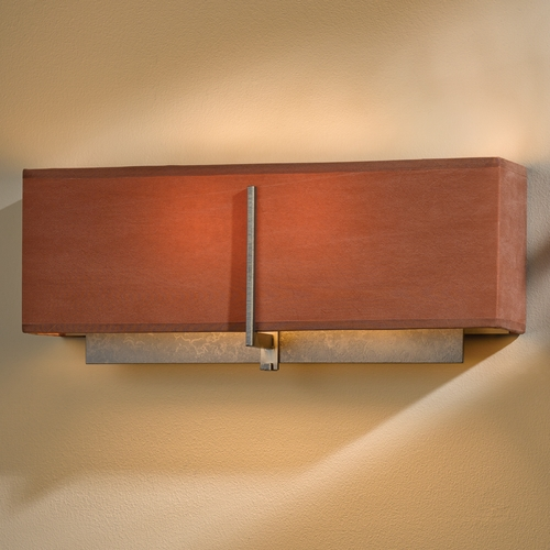 Hubbardton Forge Lighting Hubbardton Forge Lighting Exos Dark Smoke Sconce 207680-07-837
