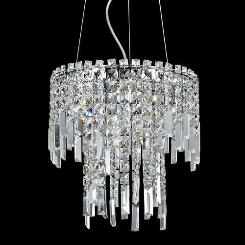 Lite Source Lighting Lite Source Helaine Chrome Pendant Light EL-10127