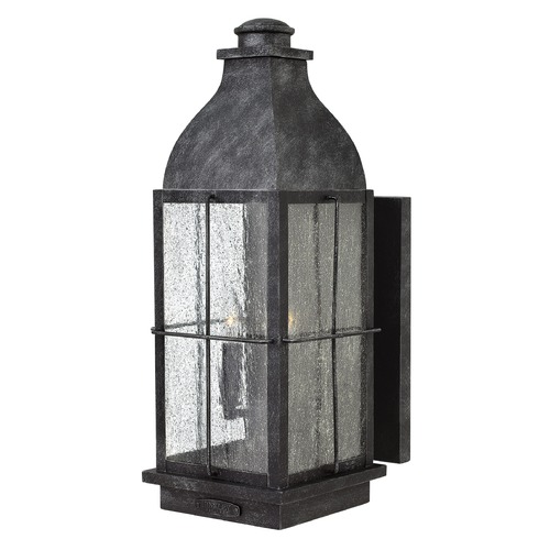 Hinkley Lighting Hinkley Lighting Bingham Greystone Outdoor Wall Light 2045GS