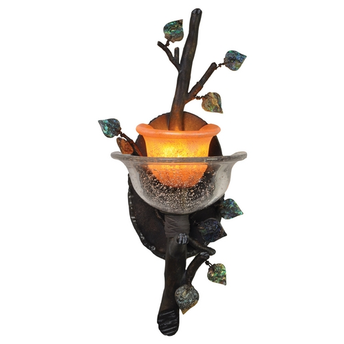 Kalco Lighting Kalco Lighting Cottonwood Sienna Bronze Sconce 2510SB/ART