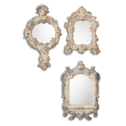 Uttermost Lighting Uttermost Rustic Artifacts Reflection Mirrors, Set of 3 13882