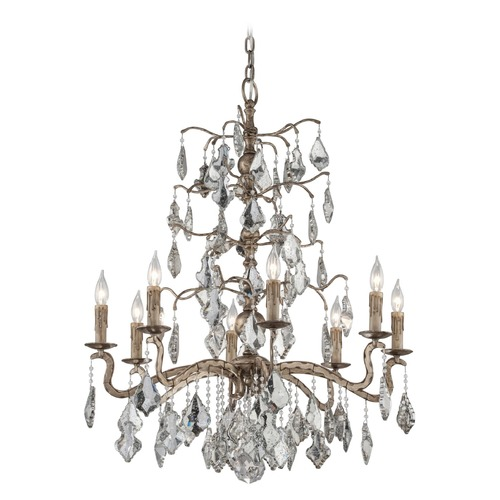 Troy Lighting Troy Lighting Siena Vienna Bronze Crystal Chandelier F4745