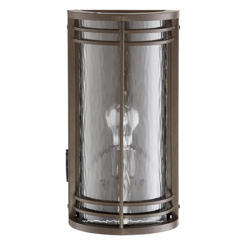Quorum Lighting Quorum Lighting Larson Oiled Bronze Outdoor Wall Light 7916-186