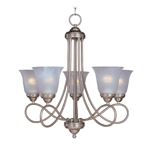 Maxim Lighting Maxim Lighting Nova Satin Nickel Chandelier 11044MRSN