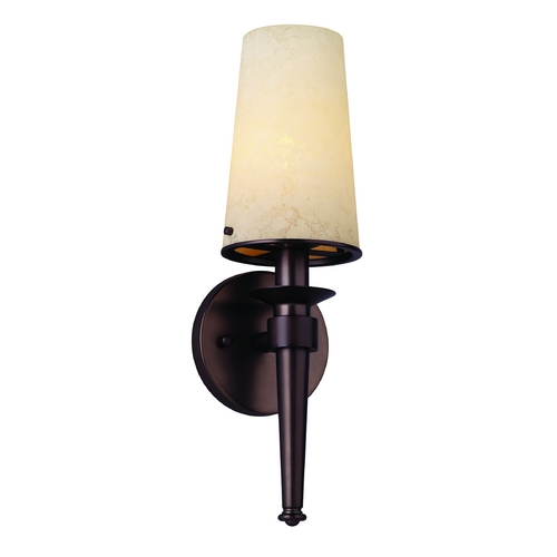 Philips Lighting Modern Sconce Wall Light in Merlot Bronze Finish F543770E1NV