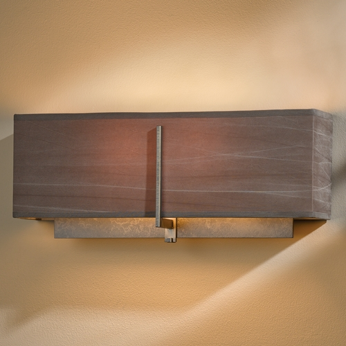 Hubbardton Forge Lighting Hubbardton Forge Lighting Exos Dark Smoke Sconce 207680-07-838