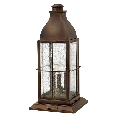 Hinkley Lighting Hinkley Lighting Bingham Sienna Post Light 2047SN