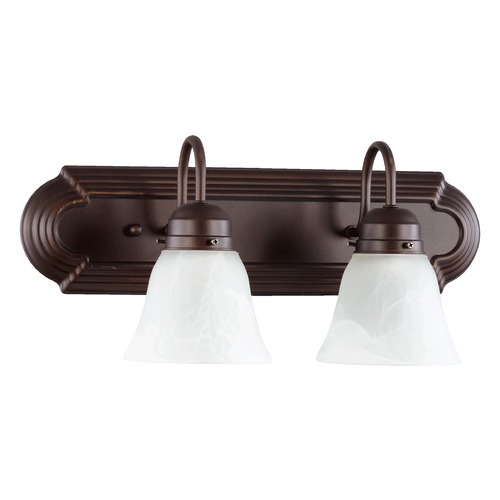 Quorum Lighting Quorum Lighting Oiled Bronze Bathroom Light 5094-2-186