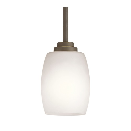 Kichler Lighting Kichler Lighting Eileen Olde Bronze LED Pendant Light with Bowl / Dome Shade 3497OZSL16