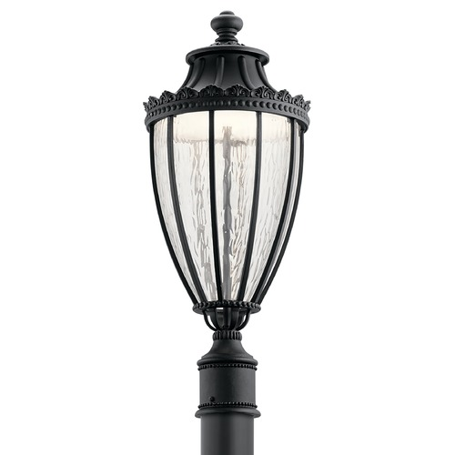 Kichler Lighting Kichler Lighting Wakefield Textured Black LED Post Light 49756BKTLED