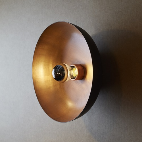 Baselite Corporation Copper Moon Sconce FMHD12/BC-WC