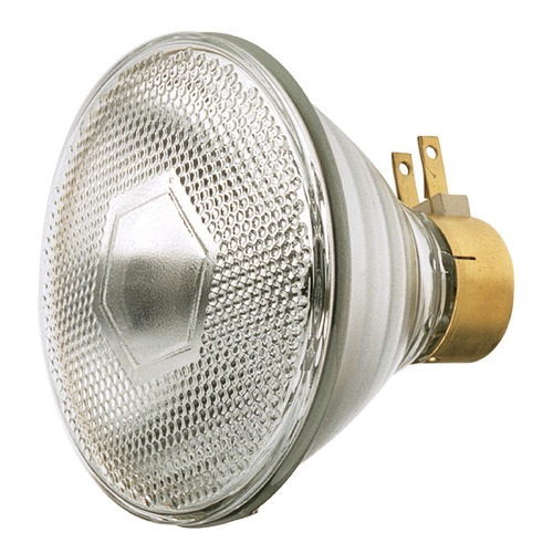 Satco Lighting Incandescent PAR38 Light Bulb Medium Side Prong Base 120V by Satco S4802