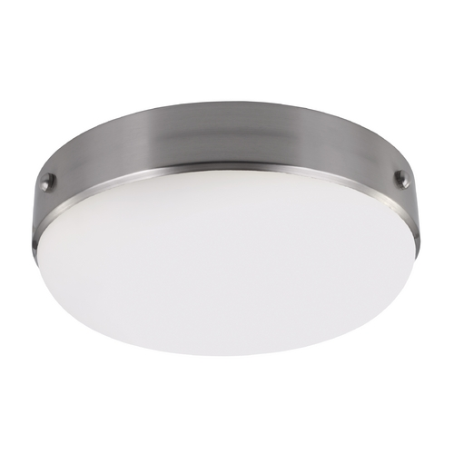 Feiss Lighting Feiss Lighting Cadence Brushed Steel Flushmount Light FM390BS