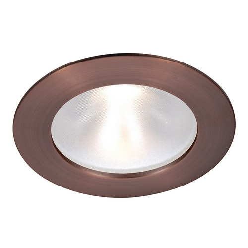 WAC Lighting Wac Lighting Copper Bronze LED Recessed Trim HR-3LD-ET118F-27CB